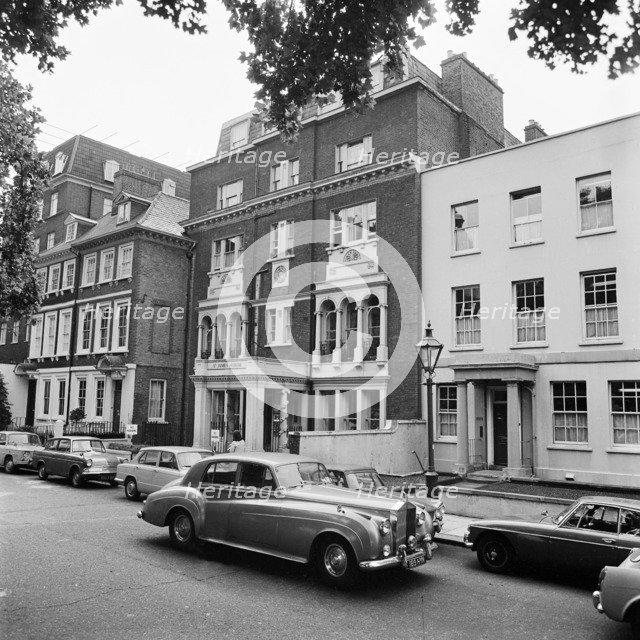 St James House, 13 Kensington Square, London, 1969-1979. Artist: John Gay