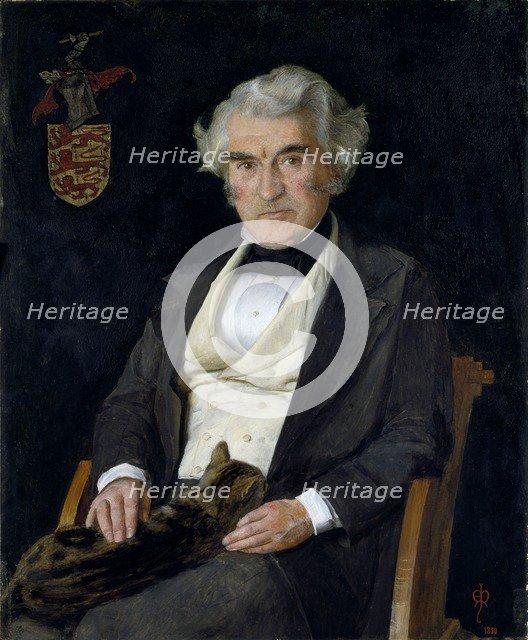 Thomas Combe, 1850. Artist: John Everett Millais.