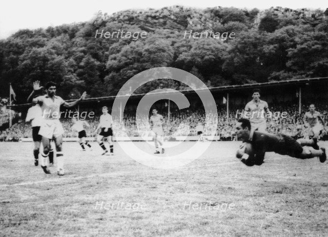 Brazil Vs Austria World Cup Football Match Uddevalla Sweden 1958 Artist Unknown 2322456 Heritage Images