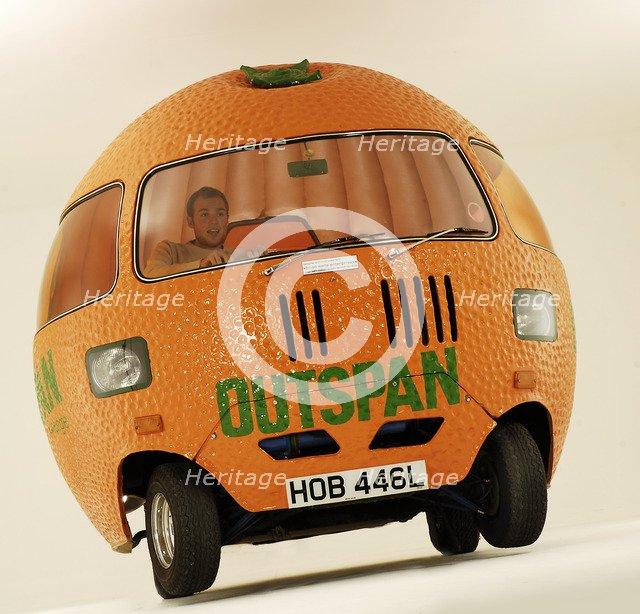 1972 Mini Outspan Orange Artist: Unknown.