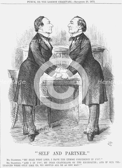Self and Partner, 1873. Artist: Joseph Swain
