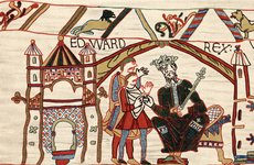 Thumbnail image of Edward The Confessor, Anglo-Saxon king of England, 1070s. Artist: Unknown