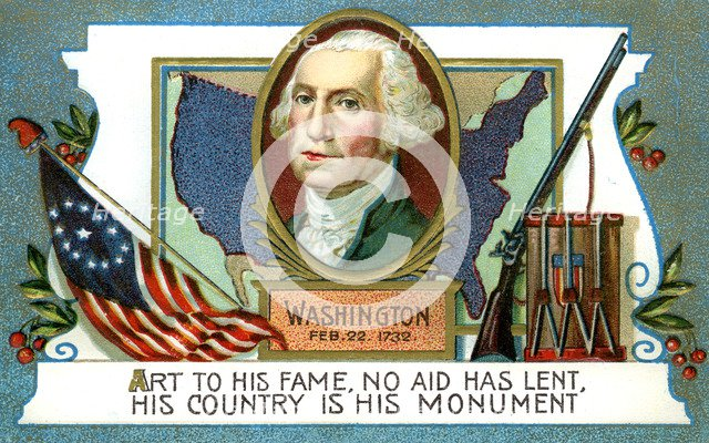George Washington (1732-1799), American president, 18th century. Artist: Unknown