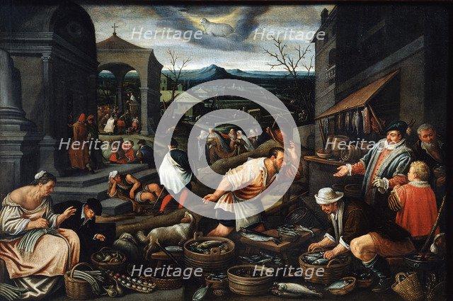 'April', 17th century. Artist: Leandro Bassano