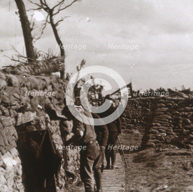 Front line, Diksmuide, Belgium, c1914-c1918. Artist: Unknown.
