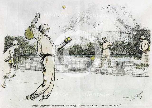 'Tennis', 1920. Artist: Unknown
