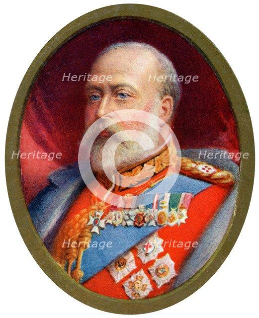 King Edward VII, 1910. Artist: Alyn Williams