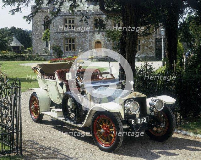 1909 Rolls Royce Silver Ghost. Artist: Unknown