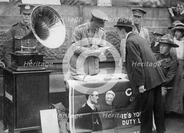 The volunteer, c1914-1916. Artist: Unknown
