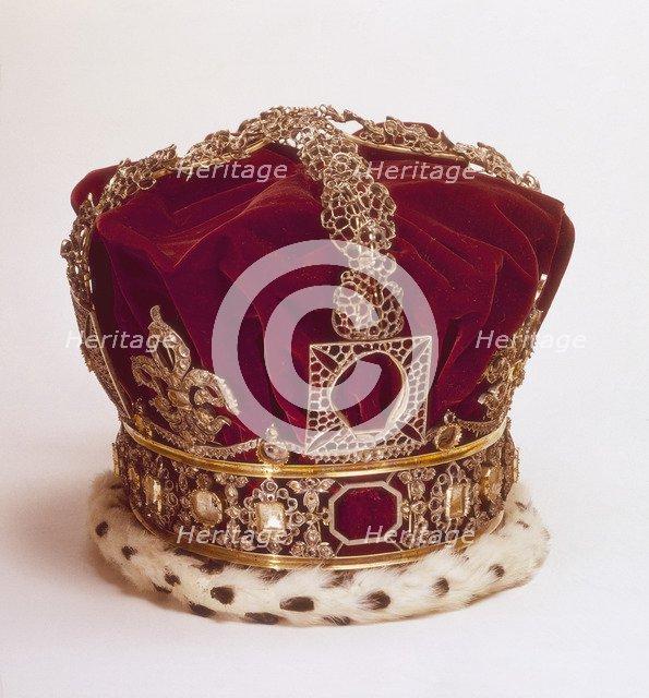 Queen Victoria's Imperial State Crown. Artist: Unknown