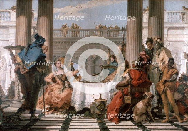 'The Banquet of Cleopatra', 1743-1744. Artist: Giovanni Battista Tiepolo